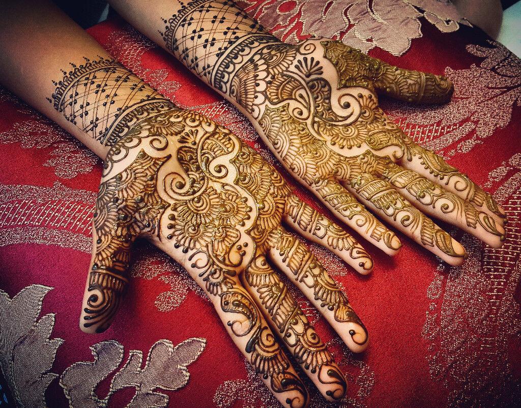 Henna Artist Ash Kumar Fully Trained London Midlands