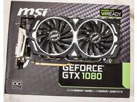MSI Armor GTX 1080 8GB
