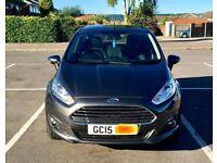 '15 Plate Ford Fiesta Zetec 1.0L Petrol Turbo Ecosport - Magnetic Grey