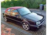 £400 VW GOLF MK3 2.0 AVANTGARDE CABRIOLET