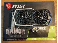 MSI GeForce GTX 1660 6G OC Armor Edition