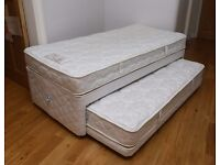 Rest Assured single bed with pull out guest bed in VGC