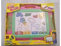 Sketcher, drawing and floor puzzle