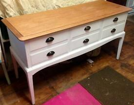 Stag Minstrel Sideboard/Dressing Table Upcycled
