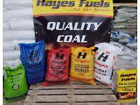 HAYES QUALITY CASH & CARRY COAL & WOOD PELLETS