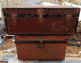 Trunks storage chests