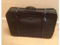 large suitcase Carlton black carry case
