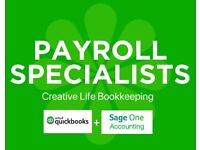 Payroll Specialists - Bookkeeping & Final Accounts.