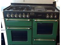 Full Gas Range (Rangemaster 110) Cooker FOR USE WITH MAINS GAS