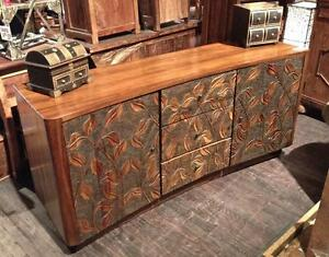 Commode Tiroirs Armoires Bois Teck Asie Indonésie / Chest with drawers Sideboard cabinet Teak Wood Indonesi