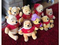Winnie The Poohs, Like New.