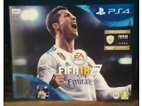 PS4 bundle with Fifa 18 Icons. Brand new in box. Unopened.