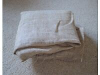 2m of Jute / Hessian Fabric. Great for crafts - FREE