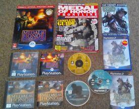 Medal Of Honor PS, PS2, walkthrough + games