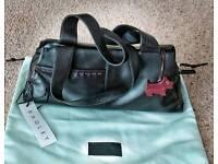 Radley hand bag ( new ) dark brown
