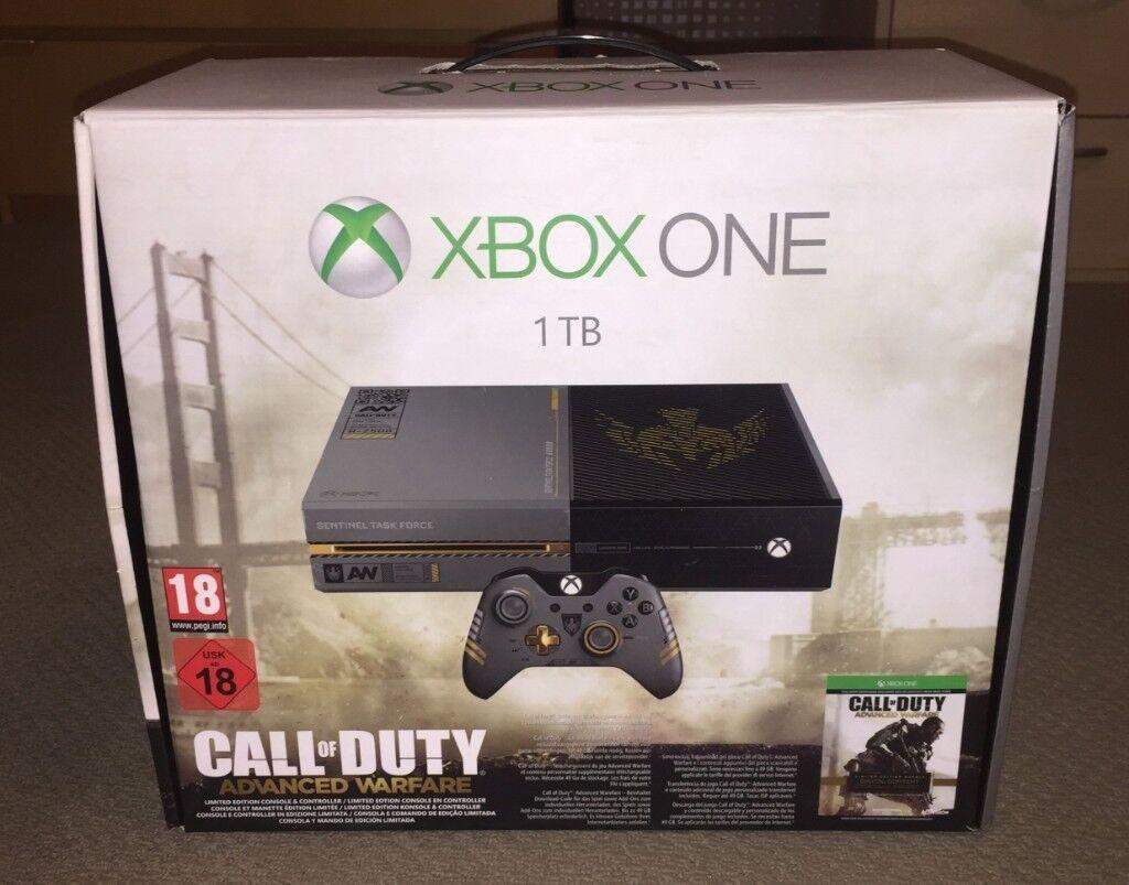 Xbox One 1TB Cheap Mint Condition Advanced Warfare ...