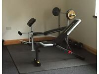 Gym Equipment - Benches, Weights, Bar
