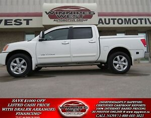 2010 Nissan Titan LE CREW 4X4, LOCAL TRADE - ONLY 49K KMS*, LOAD