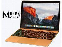 """12"""" Retina Latest Gold Apple Macbook Retina 1.2Ghz 8Gb Ram 500GB SSD FL Studio 11 Reason Logic Pro X"""