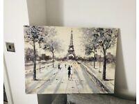 Paris Canvas Art Work