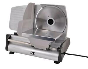 NEW Kalorik Professional Style Food Slicer, Silver