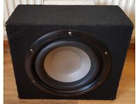 CAR ACTIVE SUBWOOFER SPLX 1000 WATT 12 INCH BASS BOX WITH BUILD IN AMPLIFIER SUB WOOFER AMP