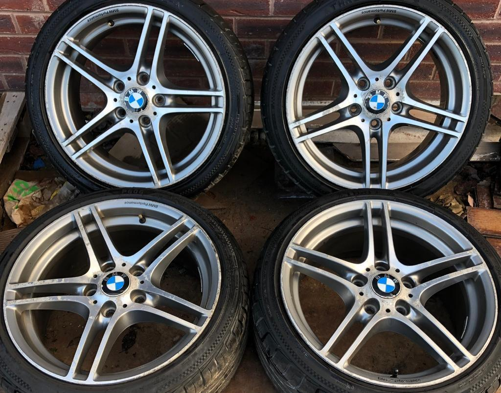 Bmw 1 Series M Sport Style 313 18 Inch Alloy Wheels 5 X 120