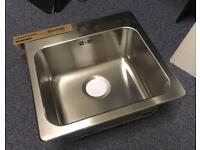 Brand new stainless steel sink - Ikea Langudden