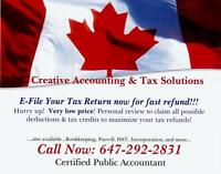 CREATIVE ACCOUNTING & TAX SOLUTIONS