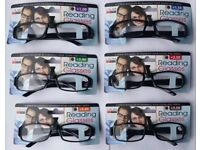 stylish modern reading glasses in 1.00 1.50 2.00 2.50 3.00 3.50 4.00
