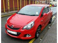 """Red Vauxhall Corsa VXR 189bhp, 18"""" alloys, SATNAV"""