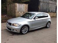 BMW 1 Series MSport, 58 plate, diesel, 106k miles, £4500 ONO, full years MOT - no advisories