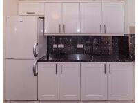SECOND HAND KITCHEN: Units Hob, Oven, Fridge Freezer, Extractor, Dishwasher, 1.5 Bowl Sink.