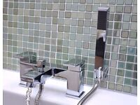 BRAND NEW BOXED - Bath Basin Filler Tap With Shower