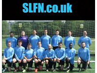 NEW TO LONDON? PLAYERS WANTED FOR FOOTBALL TEAM. FIND A SOCCER TEAM IN LONDON. PLAY IN LONDON dfg45r