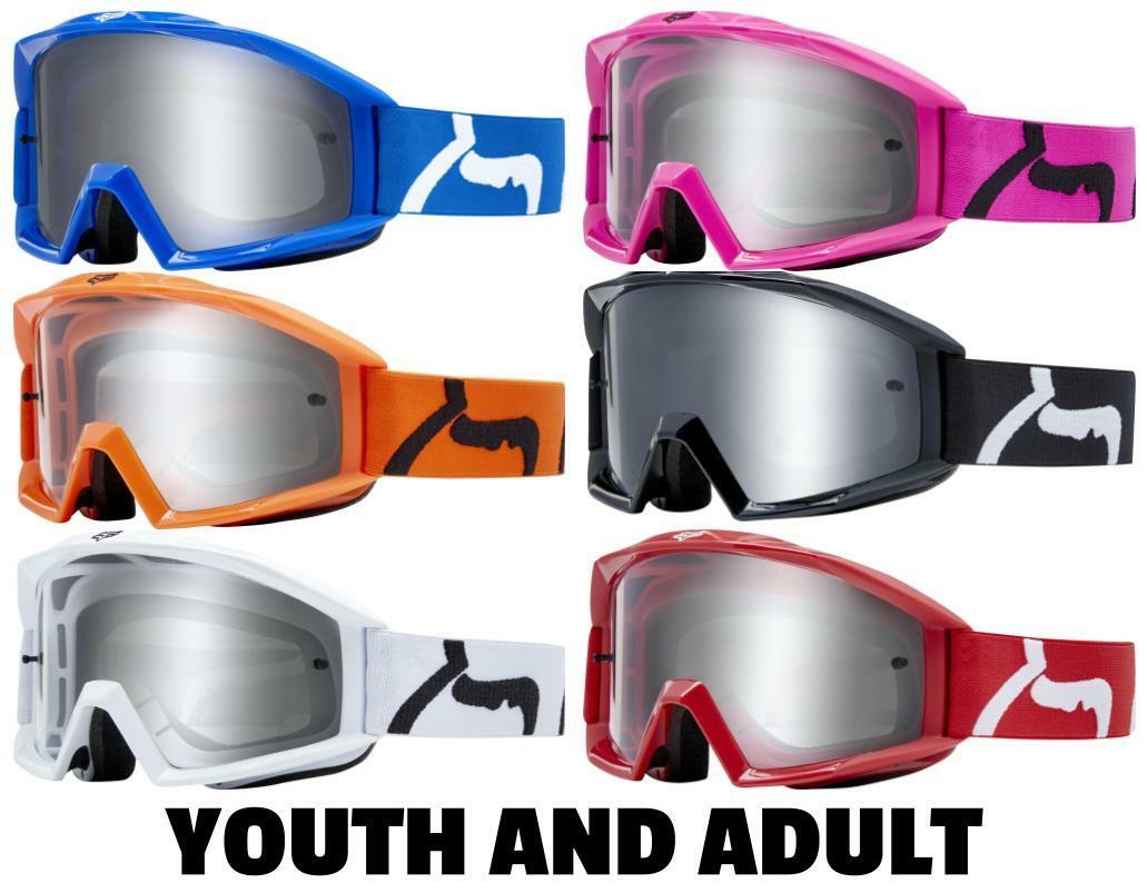 2019 Fox Racing Main Race Goggle ADULT / YOUTH Motocross Dirt Bike Off Road MTB