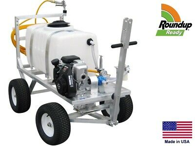 Sprayer Commercial - Trailer Mounted - 7 Gpm - 50 Gallon - Roundup Ready