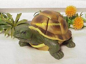 Turtle Indoor Outdoor Garden Pond Yard Decor Statue Figure New Tg Ebay