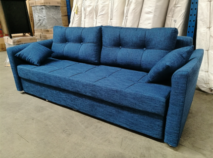 brand new 3 seater sofabed with storage.Can change queen size bed