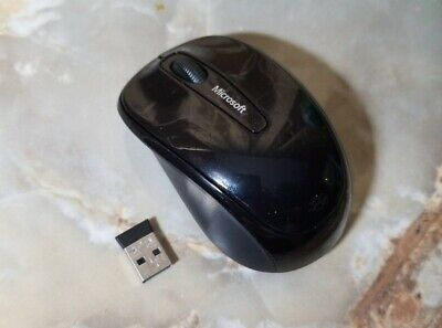 Microsoft - Wireless Mobile Mouse 3500 - USB 2.0 - Black