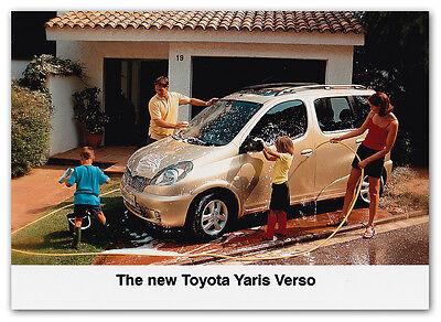 Toyota Yaris Verso Press Release Photograph