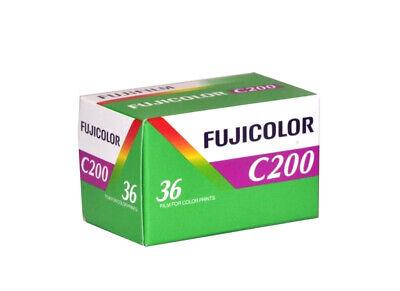 1 Pellicola 35mm Rullino fotografico Colore Fujicolor C200 ISO da 36 foto