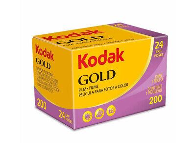 1 Pellicola 35mm Rullino fotografico Colore Kodak Gold 200 asa 24 foto - film