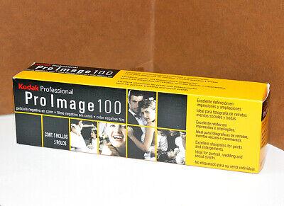 5x Pellicola 35mm Rullino fotografico Colore KodakPro Image 100 asa 36 foto film