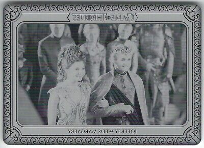 KING JOFFREY weds MARGAERY TYRELL #1/1 Game of Thrones Inflexions Printing Plate