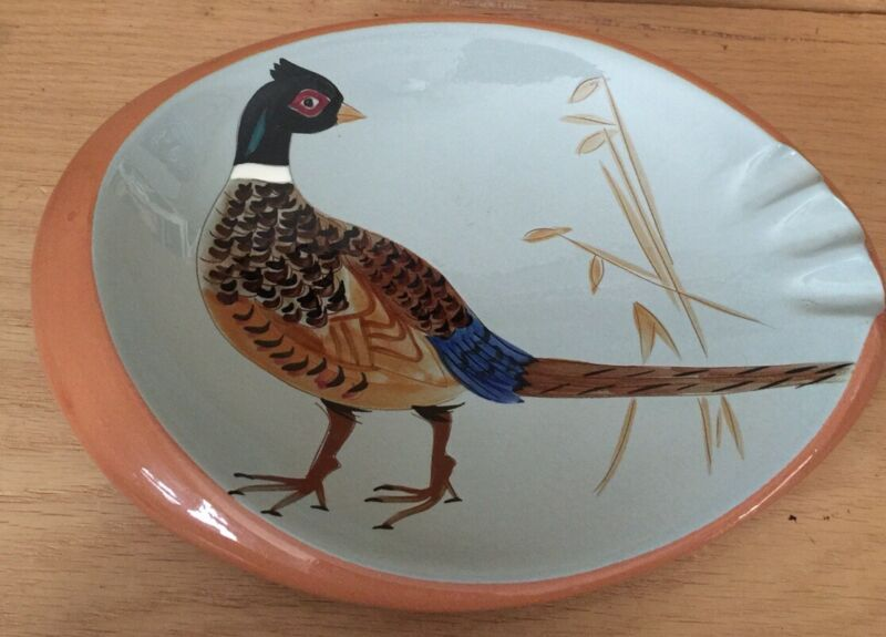Stangl Pottery Pheasant 3926C Vintage Ashtray Made In USA