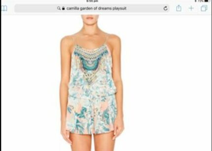 925fac297c camilla number 88 tie front playsuit