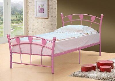 Single Bed Metal Frame 3ft Single Jemima FREE DELIVERY