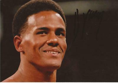 WWE WRESTLING: DARREN YOUNG SIGNED 6x4 ACTION PHOTO+COA