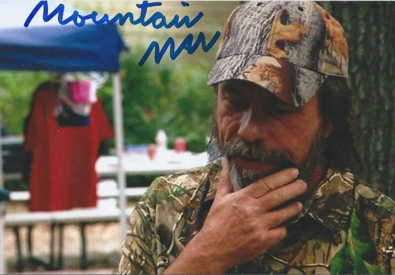 "Mountain Man signed autograph TV ""Duck Dynasty"" RARE PROOF PHOTO COA LOOK!!"